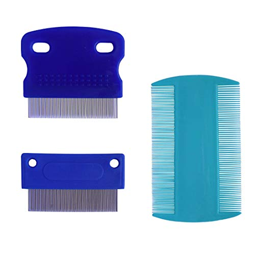 zYoung 3 Pcs Dog Comb, Tear Stain Remover, Dog Eye Stain Remover, Dog Grooming Comb, Comb for Dogs, Gently Removes Mucus…