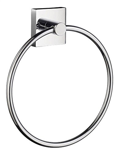 House Towel Ring in Polished Chrome Finish