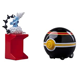 TOMY Pokémon Catch 'N Return Pokeball - Thundurus/Luxury Ball
