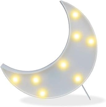 Don Letra - Lámparas Decorativas de Luna Decoración Iluminación ...