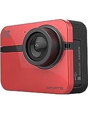 كاميرا EZVIZ S1 One Action Sports Camera HD 1080P 60FPS تدعم الواي فاي (أحمر)