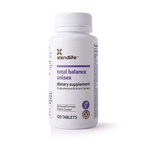 (Xtend-Life Total Balance Unisex Multivitamin/Multinutrient Supplement, Anti Aging& General Health, 120 Enteric Coated)