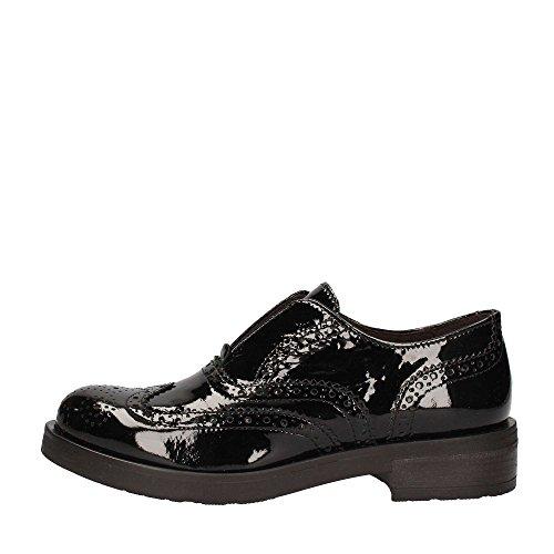 Inglesina Inglés negros NOIR la Nero pie dedo CAF EB311 pintura zapatos en del del deslizamiento FOfAqIwx