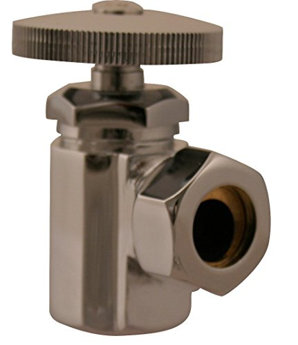 - IPS Angle Stop, Oil Rubbed Bronze, Inlet 1/2 IPS, Outlet 1/2 O.D. Slip Joint