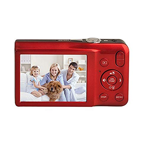 Digital Camera,KINGEAR V100 2.7 Inch LCD Screen Anti-Shake Smile Capture Digital Video Camera by KINGEAR