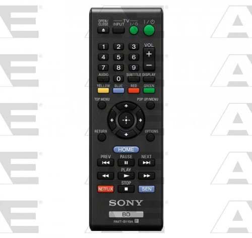 Sony OEM Original Part: 1-490-027-12 DVD Player Remote Control by Sony