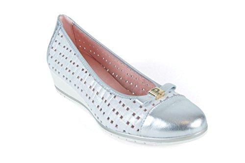 Zapatos 3702 Plata Talla Pitillos 40 grzwgxn