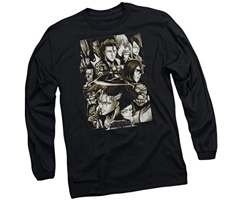 Bleach Slice Long-Sleeve T-Shirt, X-Large