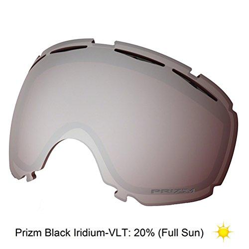 Oakley Canopy Goggle Replacement Lens 2018 - Prizm Black Iridium/Full - Types Frame Oakley