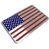 Riley Express 美国国旗汽车贴纸 RE-US-Flag-RWB-Alu