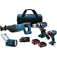 Bosch Clpk414 181 4 Tool Reciprocating Flashlight At A Glance