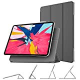 """Fintie Magnetic Case for iPad Pro 11"""" 2018 [Supports Apple Pencil 2nd Gen Charging Mode] - [Multi-Angle Viewing] Magnetic Attached Smart Stand Cover w/Auto Sleep/Wake for iPad Pro 11 inch, Space Gray"""