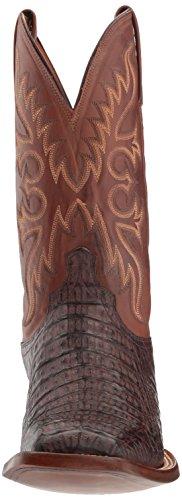 Lucchese Bootmaker Heren Fisher Western Laars Vat Bruin / Tan Gepolijste