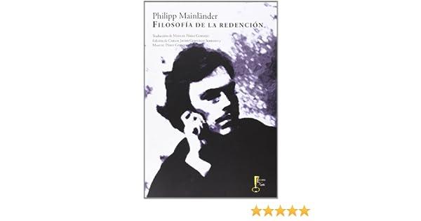 Filosofía De La Redención (Humanidades): Amazon.es: Philipp ...