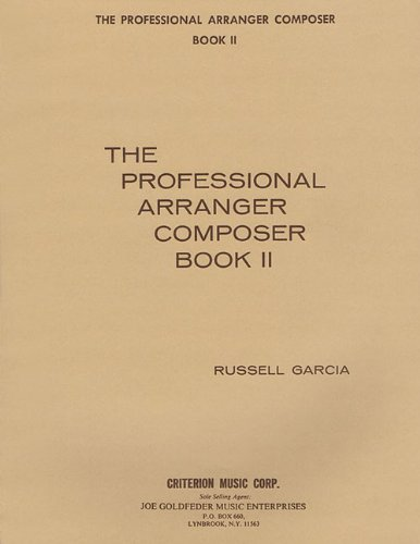 The Professional Arranger Composer Book 2 With CD