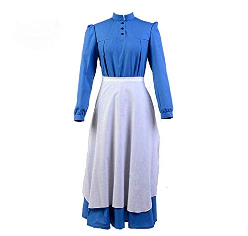 Howl's Moving Castle Sophie Cosplay Dress Costume Halloween Outfit (XL) ()