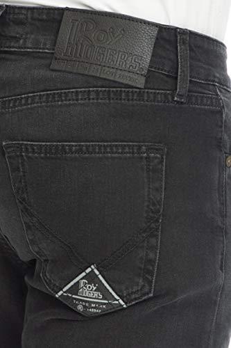 Roger's Uomo 529 Jeans Roy Denim Nero dqTEdnH