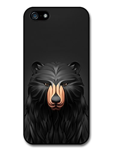 Cool Cute 3D Bear Statue in a Dark Fashion Style case for iPhone 5 5S