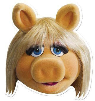 The Muppets Party - Miss Piggy Face -