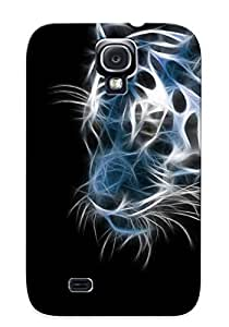 Catenaryoi Premium Protective Hard Case For Galaxy S4- Nice Design - Tiger wangjiang maoyi