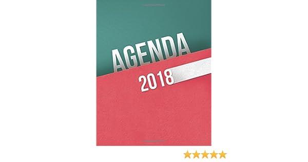 Agenda 2018 (Spanish Edition): Amss Media Marketing, My Book ...