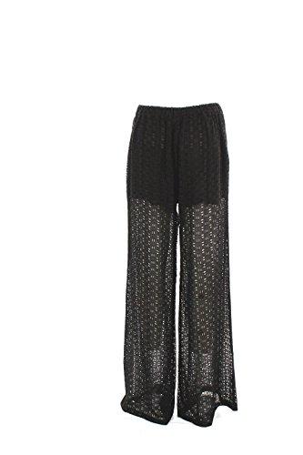 Pantalone Donna Pinko 40 Nero Elica Primavera Estate 2016