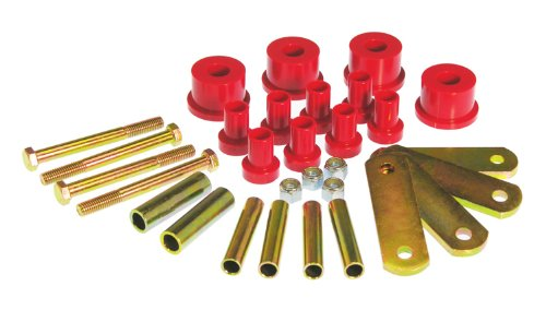 Prothane 4-1015 Red Rear Spring and Shackle -