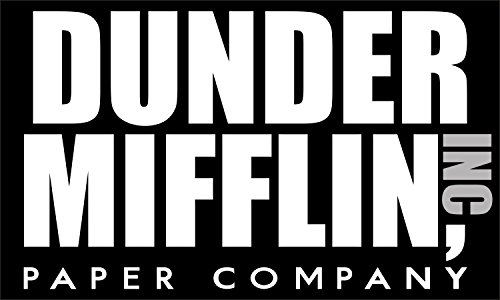The Office Dunder Mifflin Inc Paper Company Auto Bumper Magnet