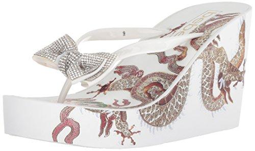 Women's Flip Bebe Alaya White Flop OwcAddyH4q