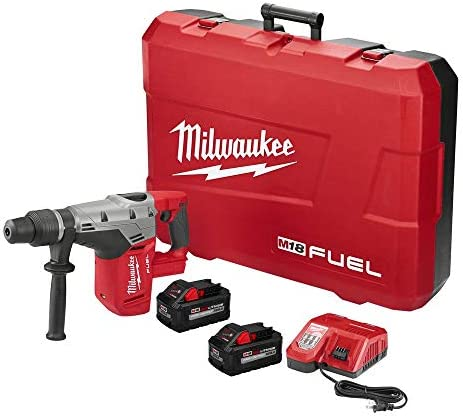 Milwaukee Tool 271722HD Rotary Cordless SDS Max Hammer Drill Kit 1916 Inch 1875 Inch M18 Fuel SDS Max