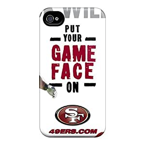 New Premium Flip Cases Covers San Francisco 49ers Skin Cases Iphone 4/4S