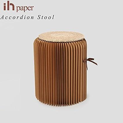 Amazon.com: BOOKNITURE Home Furniture Modern Stool Folding Chair ...