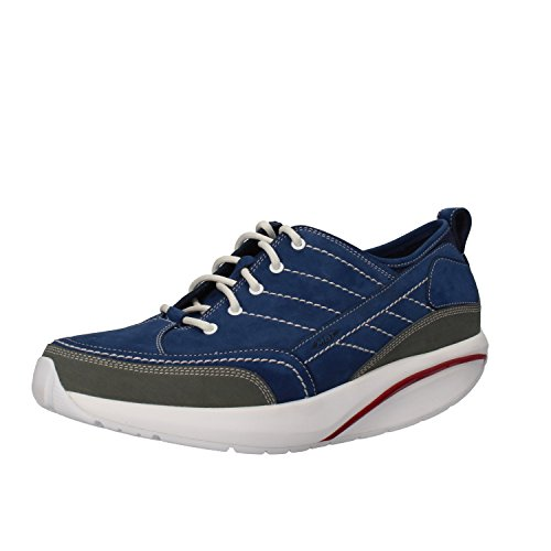 MBT Sneakers Mens 8-8, 5 US / 42 EU Blue Nubuck