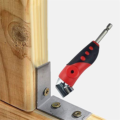 - Binmer Clearance,105 Degree Extension Screwdriver Drill Attachment Set