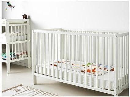 Ikea Gulliver - Cuna, Blanco - 60x120 cm: Amazon.es: Hogar
