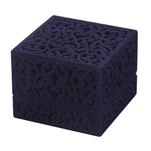 LittleTiger® Pierced Velvet Jewelry Box For Ring