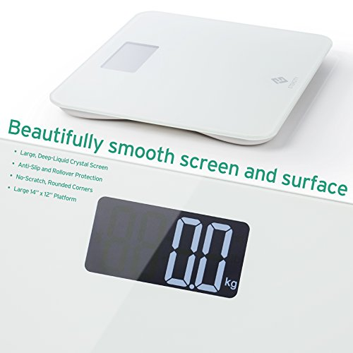 how to read a bathroom scale