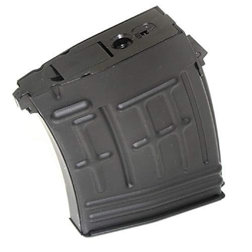 - Airsoft Shooting Gear CYMA 120rd Mag Hi-Cap Magazine for S&T RS CYMA SVD Sniper AEG
