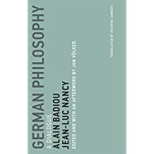 German Philosophy: A Dialogue (Untimely Meditations)