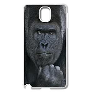Custom Colorful Case for Samsung Galaxy Note 3 N9000, Black Gorilla Cover Case - HL-703653