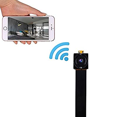 VERKB Portable Mini Wireless WIFI Spy Hidden Camera, HD 720P IP Camera Motion Detection Video recorder(Black) from VERKB