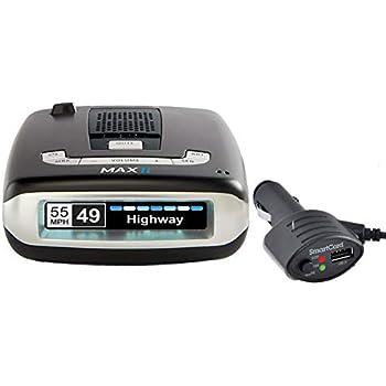 Escort MAXII Platinum - Radar Laser Detector w/Smartcord Live, AutoLearn  Technology, ESCORT Live App, Bluetooth, GPS, Speed Alerts, Headphone Jack