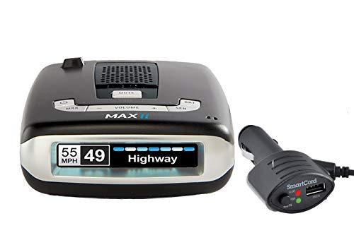 - Escort MAXII Platinum - Radar Laser Detector w/Smartcord Live, AutoLearn Technology, ESCORT Live App, Bluetooth, GPS, Speed Alerts, Headphone Jack
