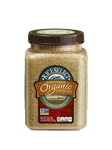 RiceSelect Organic Whole Wheat Couscous, 26.5-Ounce (Pack of 4) (Pasta Couscous)
