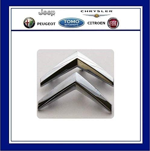 Citroen C3 Hatch Silver Chevrons Front Grill Badge//Decal//Emblem Genuine 7810P6
