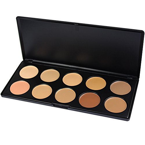 10 Colors Professional Makeup Cosmetic Blush Blusher Palette - 3