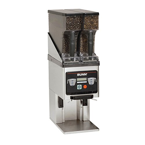 BUNN 35600.0020 Multi-Hopper Coffee Grinder & Storage System, Black/Stainless by BUNN