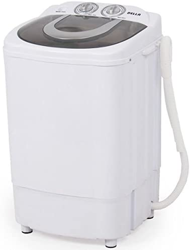 Mini Portable Washing Machine & Spin Wash 8.8 Lbs Capacity Compact Laundry Washer for Clothes, Garments