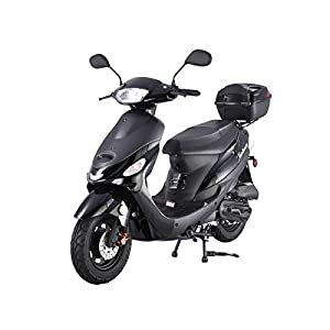 TAO SMART DEALSNOW Brings Brand New 50cc Gas Fully Automatic Street Legal Scooter TaoTao ATM50-A1 with Matching Trunk – Sporty Black