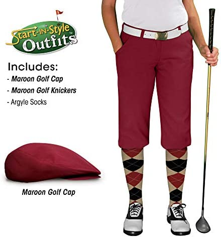 Amazon.com: Golf bragas start-in-style traje – Mujer ...
